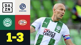 Arjen Robbens Saisonauftakt missglückt komplett: Groningen - PSV 1:3 | Eredivisie | DAZN Highlights