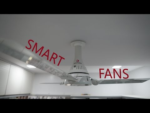 Ottomate Smart Fans, Ceiling Fan, Breeze Mode, Bluetooth Connectivity, App Controlled
