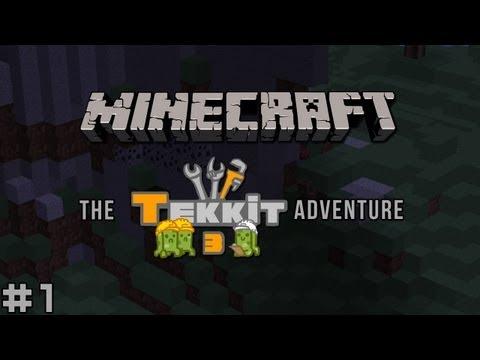 Minecraft - The Tekkit Adventure #1 - From Above