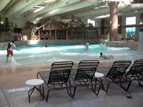 Inside The Cincinnati Great Wolf Lodge Indoor Waterpark- 9/17/09