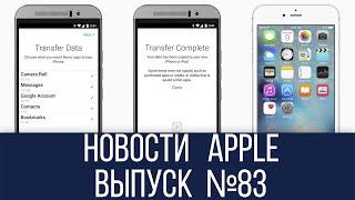Новости Apple №83 iMovie с поддержкой 4К и первое приложение Apple для Android