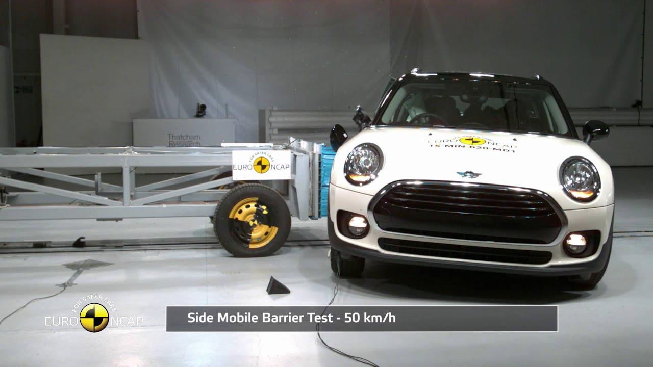 Euro Ncap Crash Test Of Mini Clubman 2017