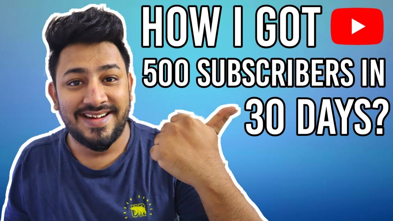 Download How I got 500 Subscribers in 30 Days in Tamil?😍 | Tamil TechLancer
