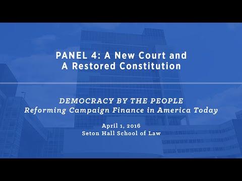 Symposium at Seton Hall School of Law (Part 5/5)