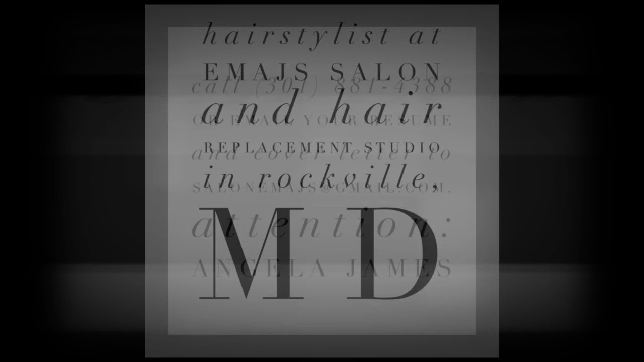 Rockville Md Hair Salon Now Hiring