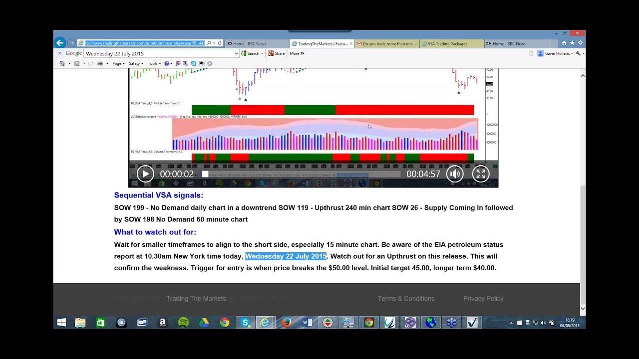 vsa software trading
