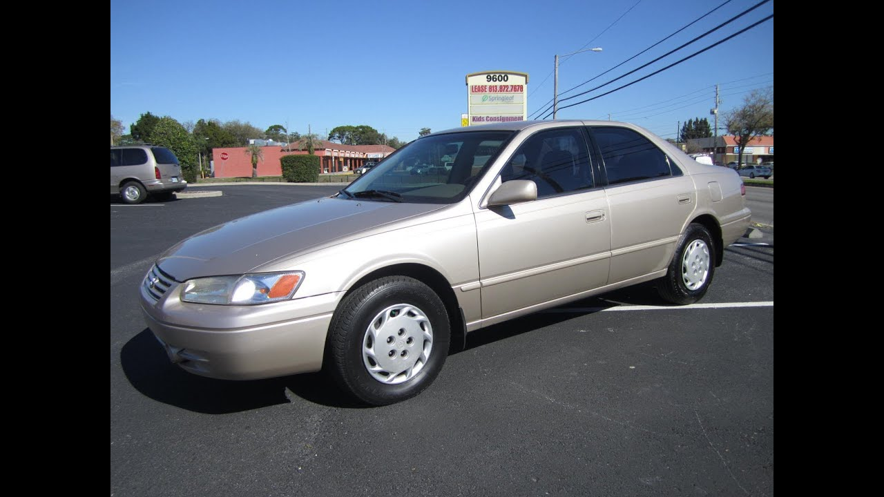 SOLD 1999 Toyota Camry LE One Owner Meticulous Motors Inc Florida For Sale - YouTube