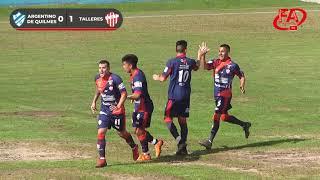 FATV 19/20 Fecha 11 - Torneo Apertura - Argentino de Quilmes 1 - Talleres 1