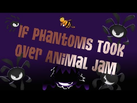 Animaljam Skit | If Phantoms took over AJ