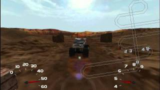 Monster Truck Madness 2 - Sidewinder Canyon