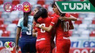 Resumen Toluca 4 - 2 Morelia | Liga MX Femenil - Ap19 J2 | TUDN