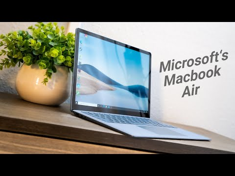 The Ultimate Response to Apple - Microsoft Surface Laptop 4 w/ Intel i5-1135G7