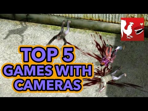 Top 5 Games with Cameras