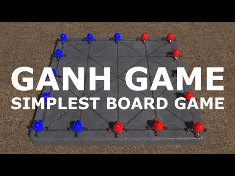 Ganh Game - The SIMPLEST Board Game On Earth