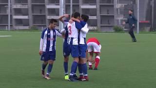 Formação: Sub-15 - Sp. Braga-FC Porto, 1-2 (CNJC, 2.ª fase, 4.ª jor., 16/12/18)
