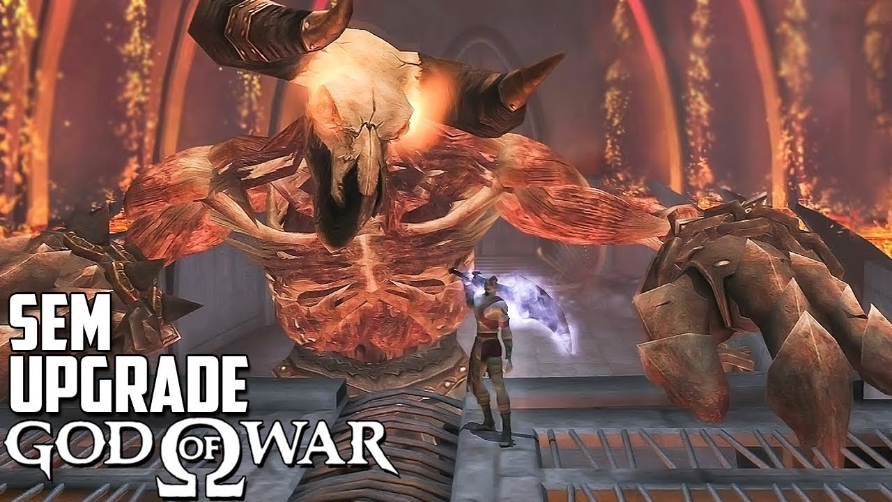 GOD OF WAR 1 VERY HARD (Sem Upgrade) - #8: Minotauro de Estimação