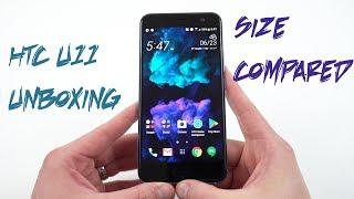 HTC U11 Amazing Silver Unboxing, Impressions, Size Comparison