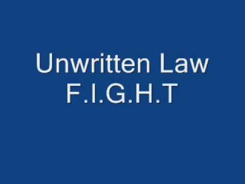 Unwritten Law - Fight