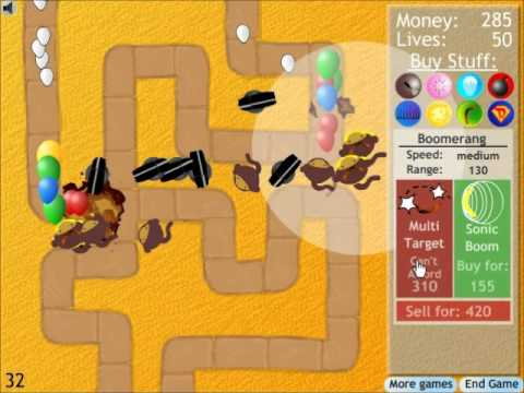 Bloons Tower Defense 2 - Walkthrough, Tips, Review