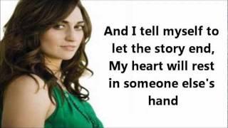 Gonna Get Over You -Lyrics- Sara Bareilles