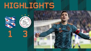 Highlights Sc Heerenveen - Ajax