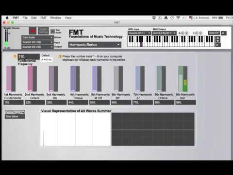 Harmonic Series Demonstration