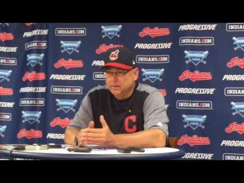Terry Francona on Michael Brantley being activated