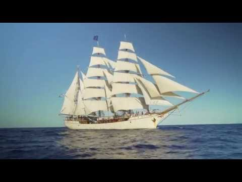 Sailing from Gran Canaria to Antarctica on board tall ship bark EUROPA
