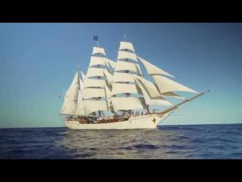 Sailing from Gran Canaria to Antarctica on board tall ship bark EUROPA