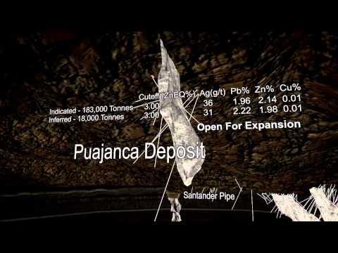 Mining Zinc Lead Silver Technical 3D Animation / IR PR Presentation Canada Peru Trevali Mining Corp.