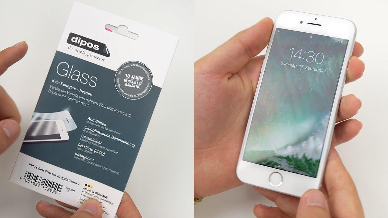 Iphone 7 Displayschutzfolie Perfekt Anbringen