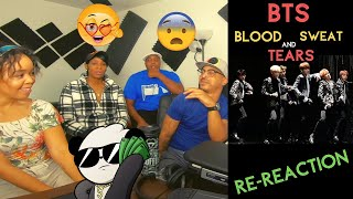 BTS - BLOOD SWEAT AND TEARS With Tabitha And Al Chauncy - KITO ABASHI REACTION