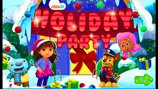 Nick Jr Holiday Party Game with Dora, Chase, Molly and Wally