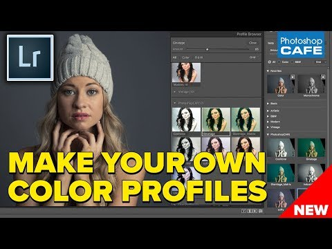 HOW TO MAKE new Color Profiles for Lightroom and ACR