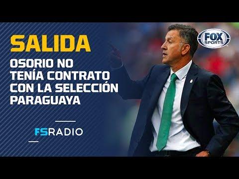 José Cardozo critica la renuncia de Juan Carlos Osorio a Paraguay