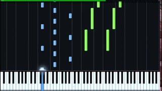 Как играть на пианино хатико [Goodbye - Hachiko]