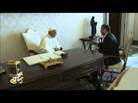 Francis receives the prime minister of the Republic of Malta