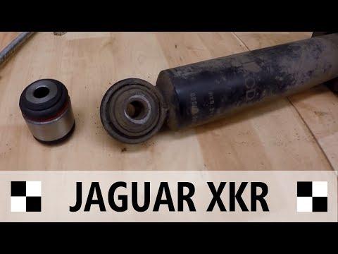 Jaguar XKR Front Shock Lower Bushing Replacement