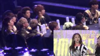 Exo watching 4minute perform WYN I made the 4minute screen a little...