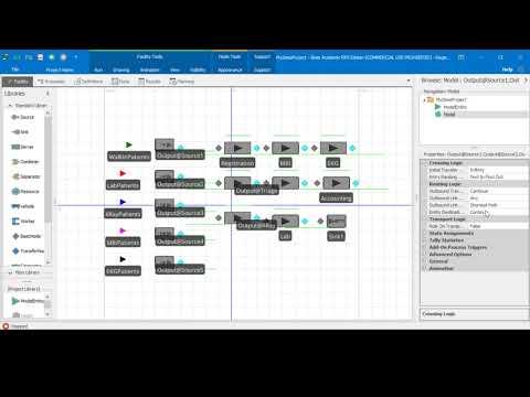 Simio Simulation - Healthcare Clinic