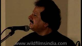 'Chandi Jaisa Rang' by India's famous ghazal singer Pankaj Udas