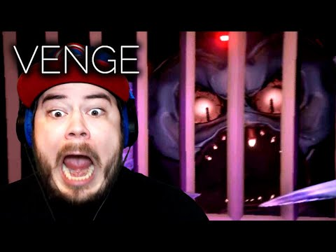 I'M BEING CHASED BY THE CARTOONIST!! | Venge (Act 1 - Part 2) |