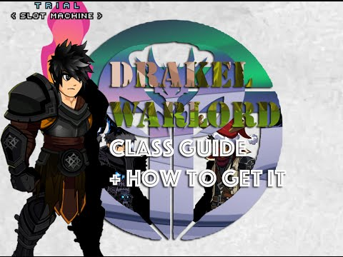 AQW How to get Drakel Warlord + Class Guide/Review