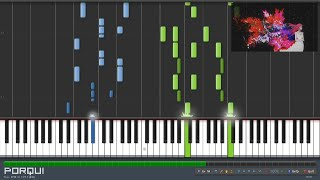 Tokyo Ghoul Opening - unravel (Synthesia)