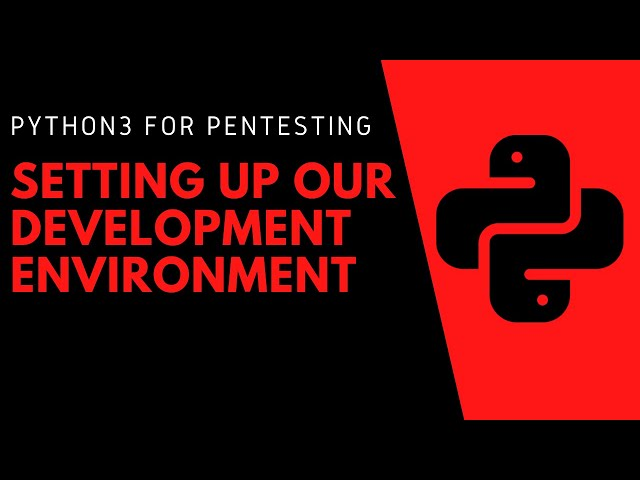 Python3 For Pentesting - Introduction