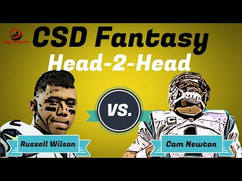 Fantasy Football 2018 - Head 2 Head Russell Wilson vs. Cam Newton