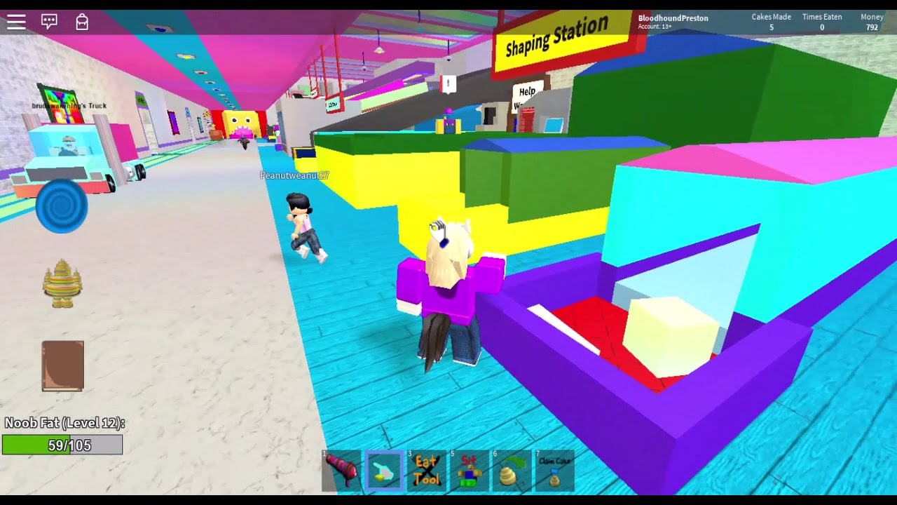 Make A Cake And Feed The Giant Noob Roblox Youtube - Making Cakes And Feeding Giant Noobs Roblox Youtube