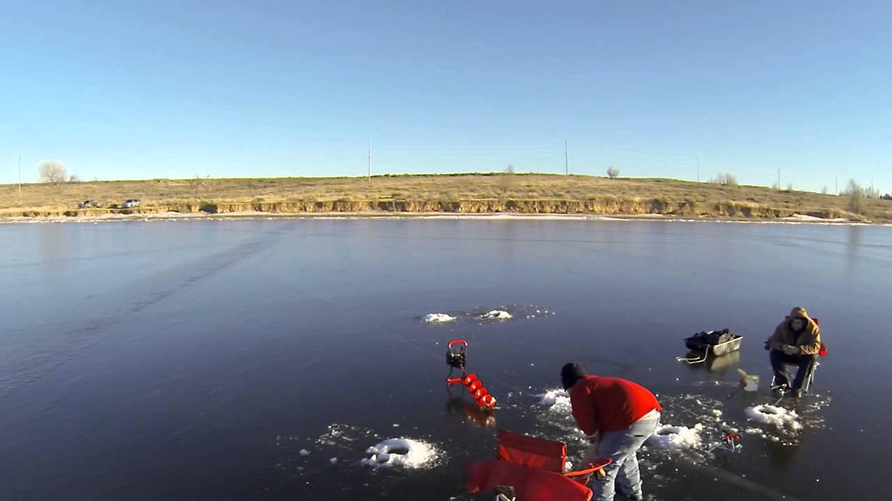 Ice fishing douglas reservoir an aerial perspective for Douglas lake fishing