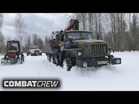 УРАЛ 6х6 и ГАЗ Садко против Турбо-Трактора!