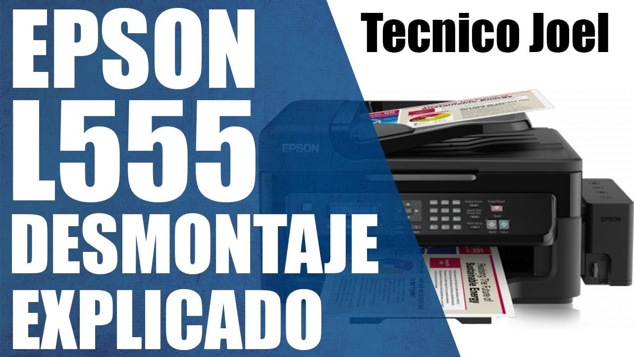 EPSON L555 Desarme Limpieza EXPLICADO   Tecnico Joel